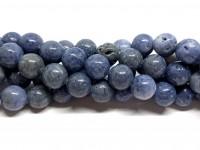 10mm blå koral perler