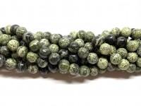 8mm zebra jaspis perler