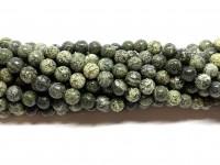 6mm zebra jaspis perler