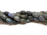 flotte labradorit perler med blå skær