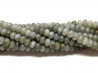 labradorit rondel perler