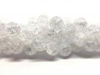 14mm krakkeleret krystal perler