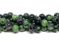 12mm rubin zoisit perler