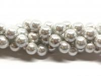 12mm blanke hvide perler