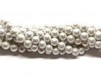 8mm blanke hvide perler