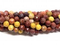8mm slebne mookait perler