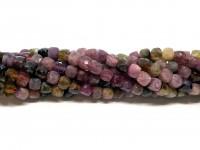 multifarvet turmalin perler