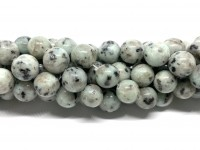 12mm sesam jade perler