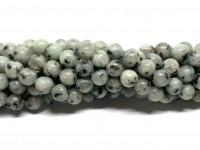 8mm sesam jade perler
