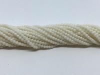 2mm hvide koral perler