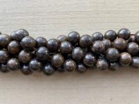 10mm rund bronzite