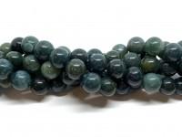 12mm runde mos agat perler