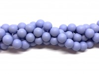 lavendel lilla shell pearl 10mm