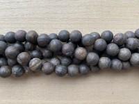 matte bronzite perler 12mm