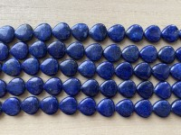 flade perler af lapis lazuli