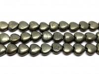 hjerte perler af pyrit