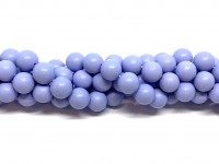 lavendel lilla shell pearl 8mm