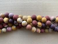 12mm matte moukite perler