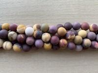10mm matte perler af moukit