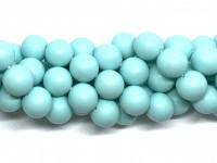 14mm mint blå perler