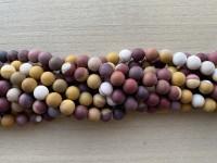 8mm matte moukite perler
