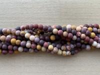 6mm matte moukite perler