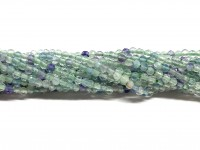 2mm facetslebet flourit perler