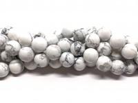 10mm hvide marmor perler howlite
