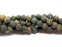 8mm matte polar jaspis perler