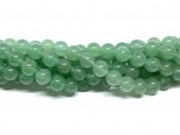 8mm grøn aventurin perler