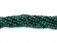3mm ægte malakit perler