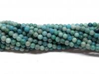 3mm chrysocolla perler