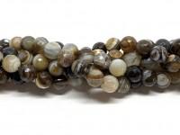 lys brun stribet agat 10mm
