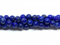 ufarvet lapis lazuli 8mm