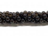 8mm runde perler af røgkvarts