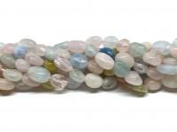 polerede nuggets perler af morganit