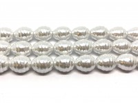 store hvide dråbe shell pearls