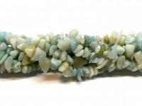 amazonit chips perler 5x8mm