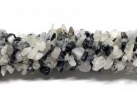 sort rutil kvarts chips perler