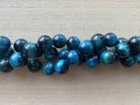 12mm turkis blå tigerøje perler