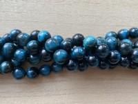 10mm turkis blå tigerøje perler