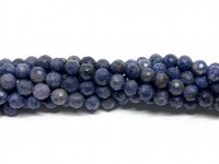 4mm facetslebet blå safir