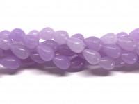 lyse lilla dråbe perler