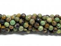 6mm grønne opal perler