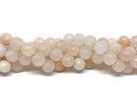 8mm facetslebet pink aventurin perler