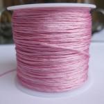 1,0mm nylon knyttesnor, lyserød-20