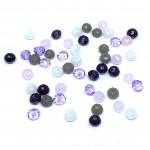mix perler til armbånd lilla