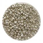 Sølv miyuki seed beads 11/0