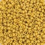 miyuki seed beads frosted citron