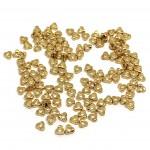 trekantede miyuki guld perler